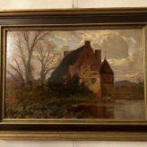 Haus am Flussufer                  Franz Hoffmann- Fallersleben